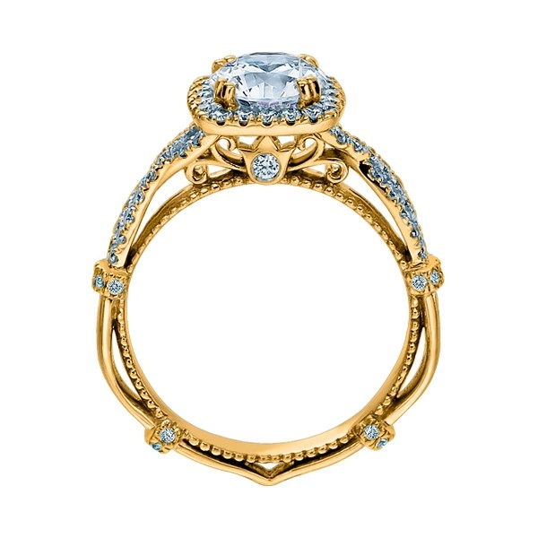 Verragio Parisian-DL106CU 14 Karat Engagement Ring Alternative View 3