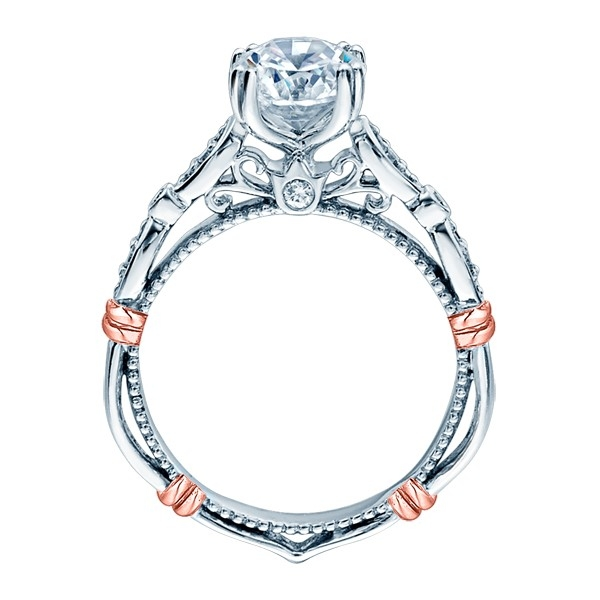Verragio Parisian-DL100 18 Karat Engagement Ring Alternative View 2