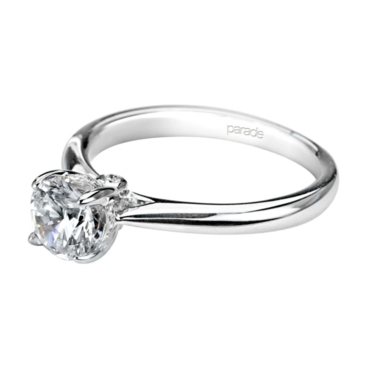 Parade New Classic R2637 Platinum Diamond Engagement Ring Alternative View 1