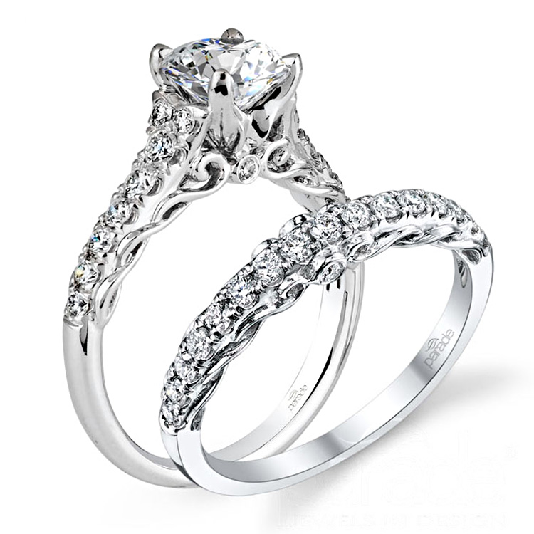 Parade Hemera Bridal R2980 18 Karat Diamond Engagement Ring