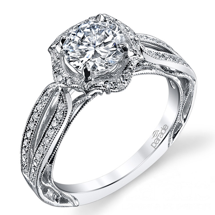 Parade Hera Bridal R3193 Platinum Diamond Engagement Ring