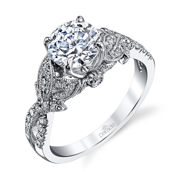 Parade Lyria Bridal R3325 18 Karat Diamond Engagement Ring