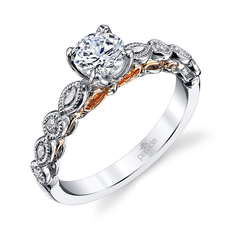 Parade Hemera Bridal 14 Karat Diamond Engagement Ring R3460