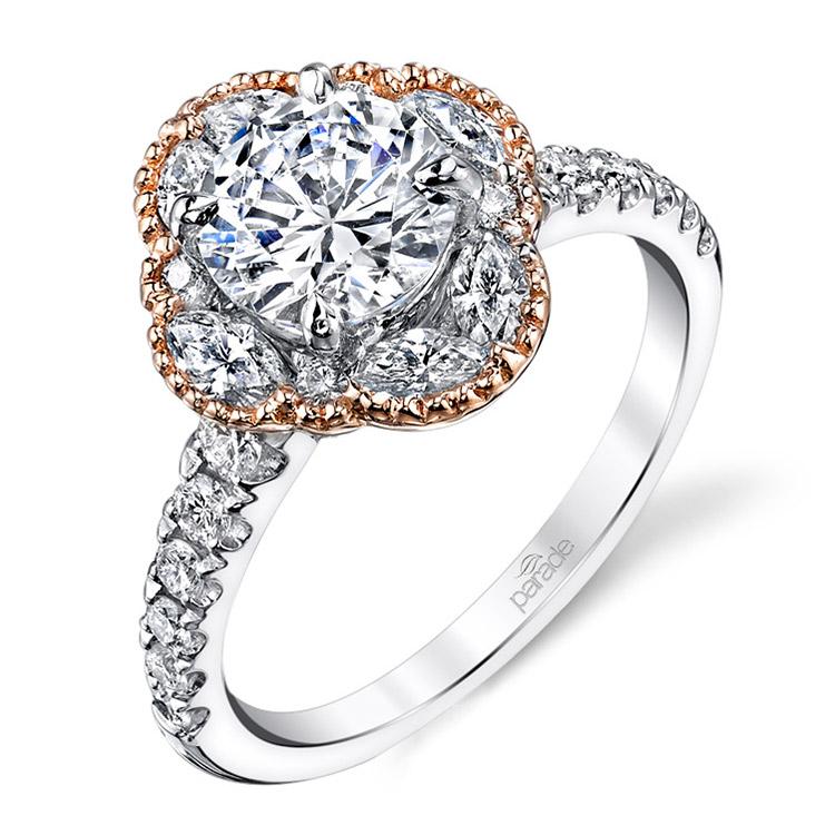 parade hemera bridal 18 karat engagement ring