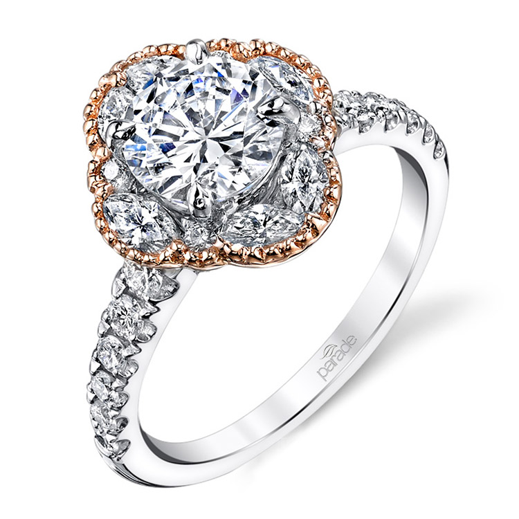 Parade Hemera Bridal 14 Karat Diamond Engagement Ring R3516