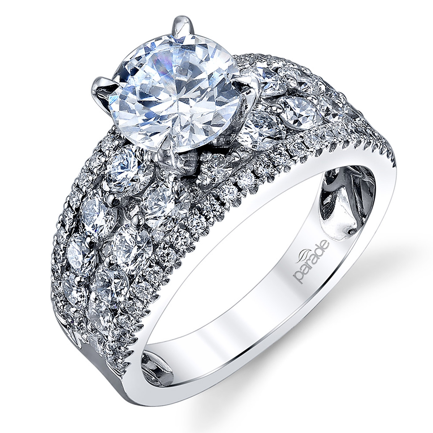 Parade Hemera Bridal 18 Karat Diamond Engagement Ring R3629