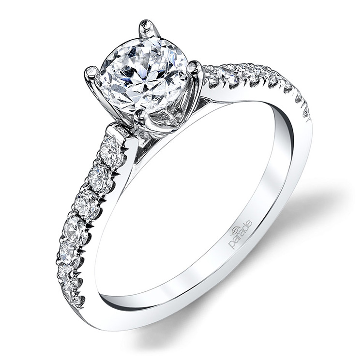 Parade New Classic R3667 18 Karat Diamond Engagement Ring