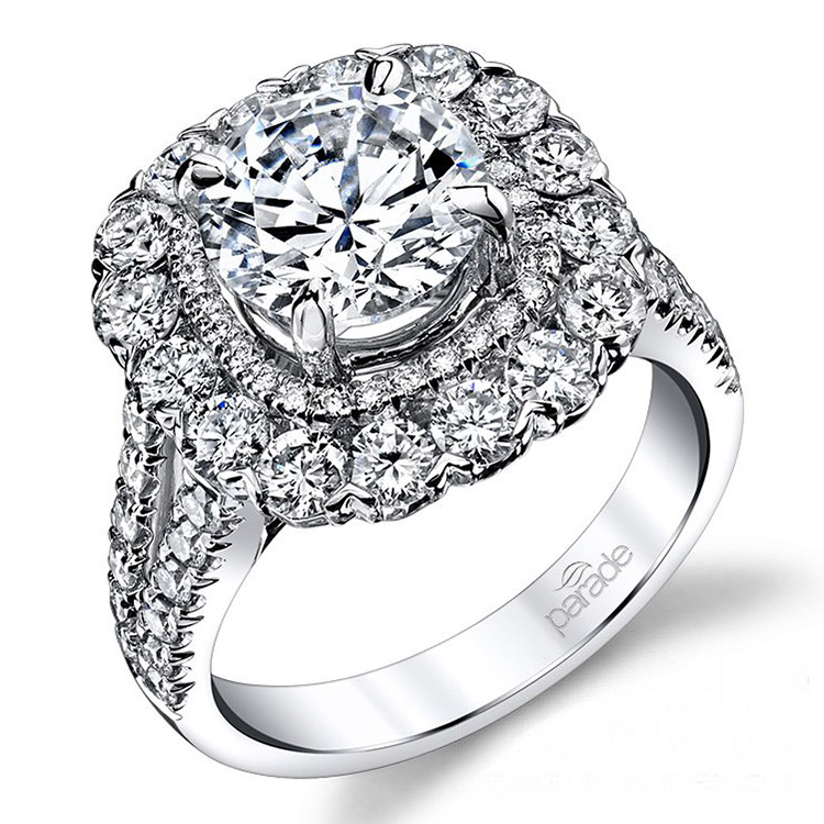 Parade Hemera Bridal 18 Karat Diamond Engagement Ring R3688