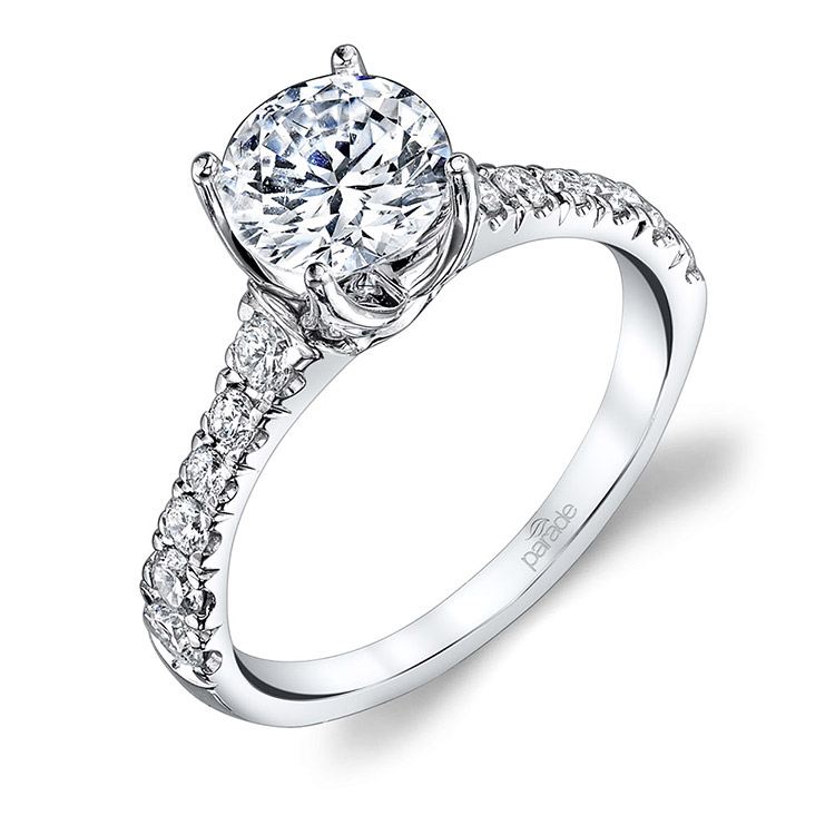Parade New Classic 14 Karat Diamond Engagement Ring R3708