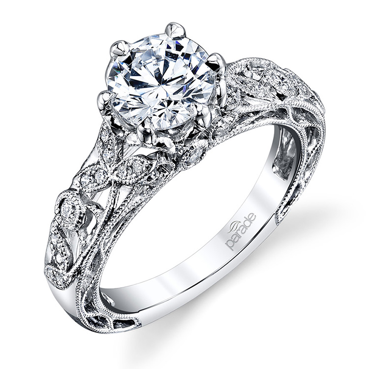 Parade Lyria Bridal R3735 18 Karat Diamond Engagement Ring