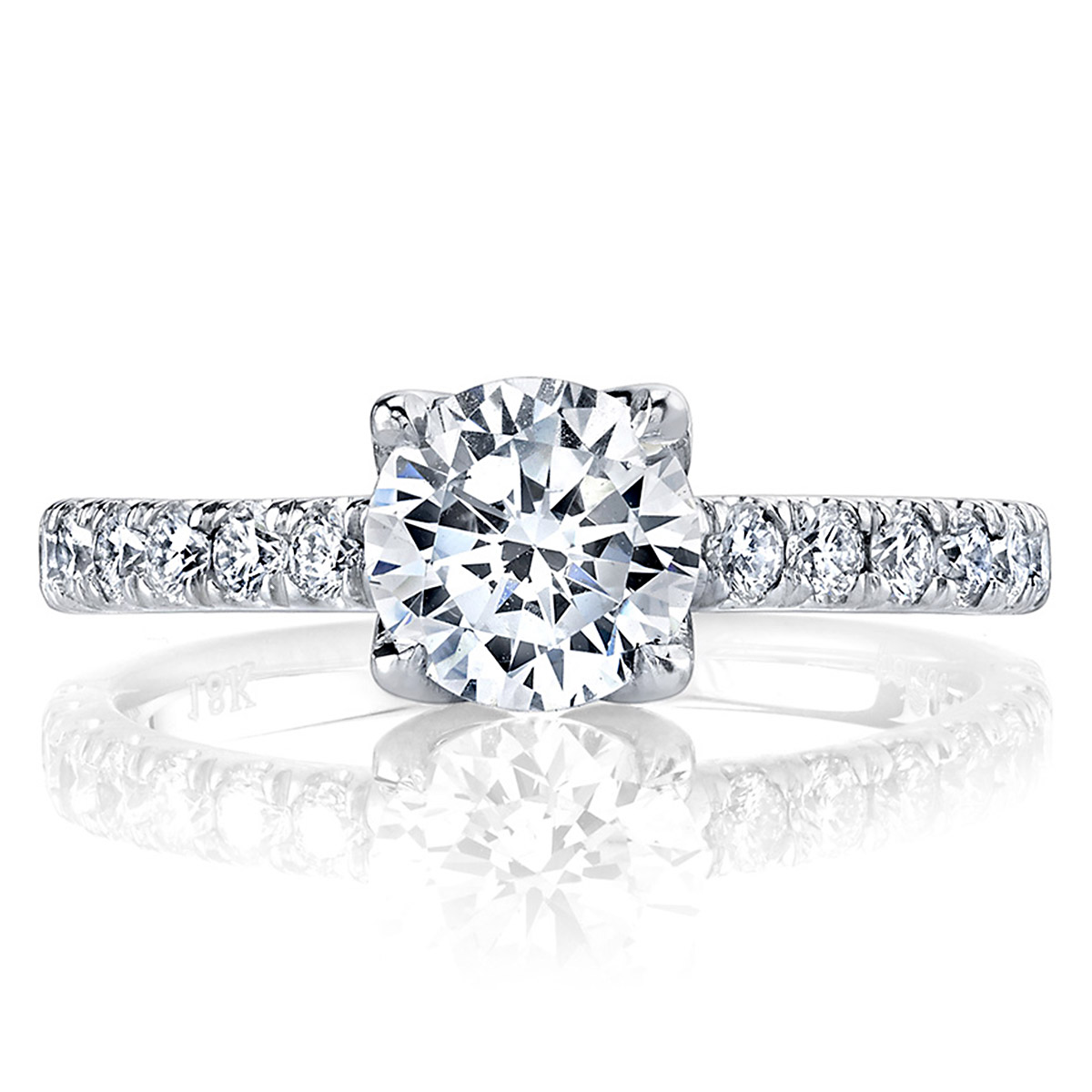 Parade New Classic 18 Karat Diamond Engagement Ring R3812 Alternative View 2