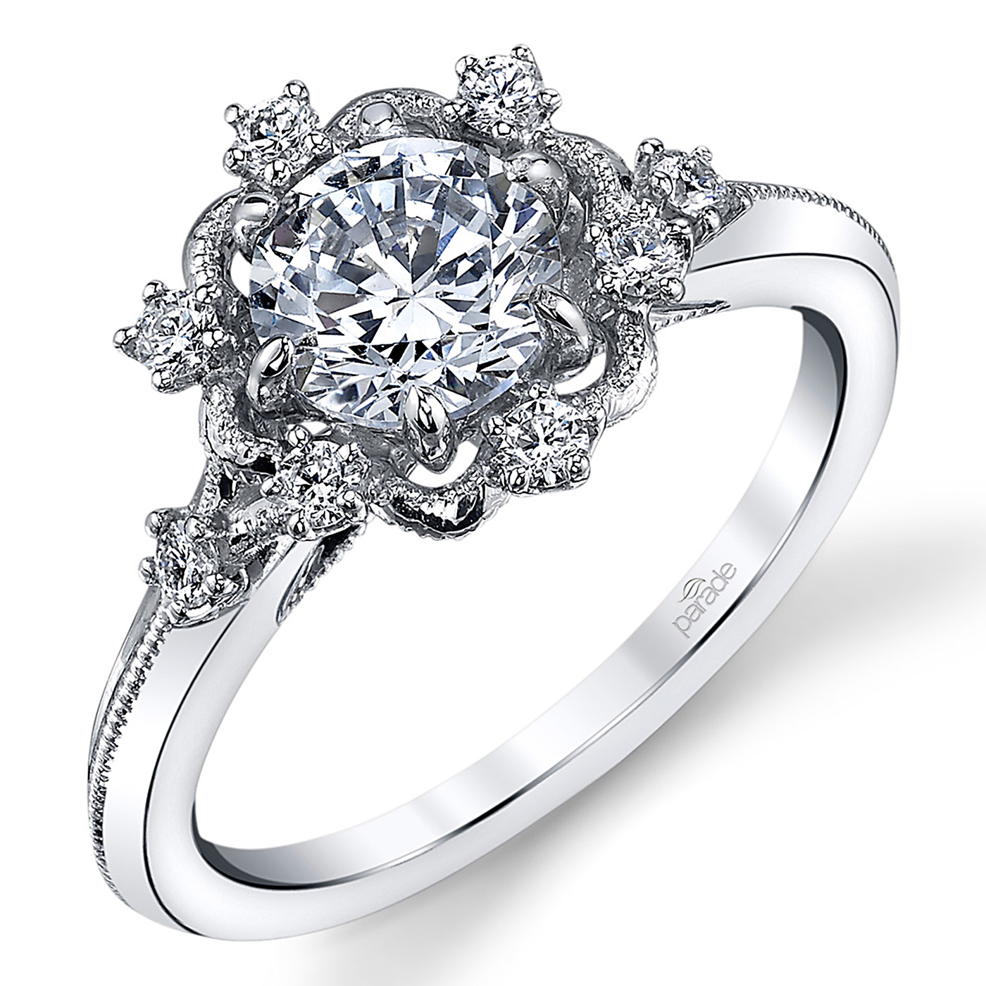 5fd733c15d5d Parade Hera Bridal 14 Karat Diamond Engagement Ring R3905