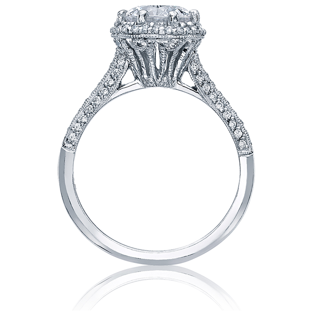 Tacori Platinum Solitaire Engagement Ring 2502RDP6.5 Alternative View 1