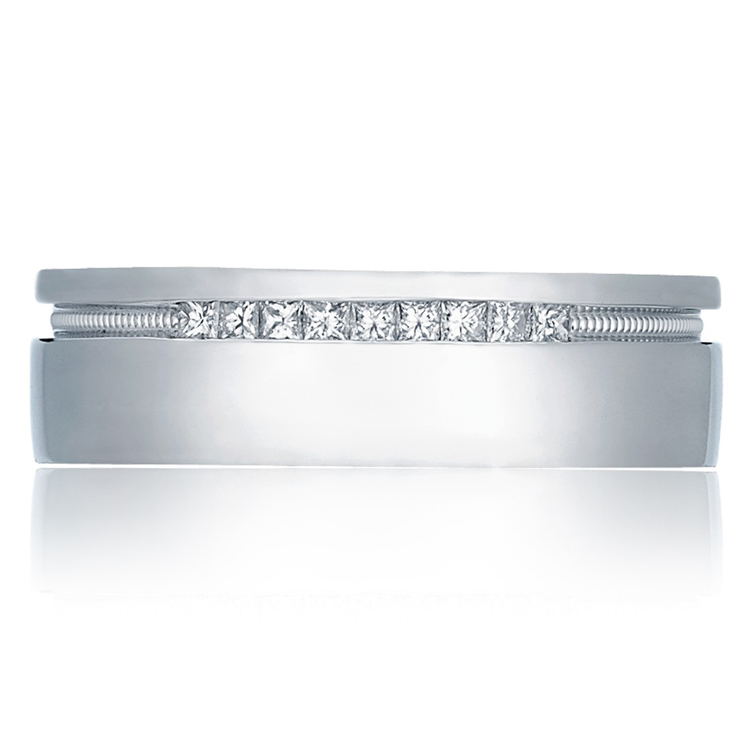 Tacori 2556PR 18 Karat Crescent Wedding Band