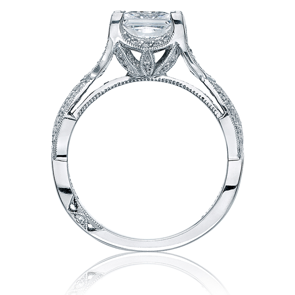 Tacori 2565PRMD6 Platinum Simply Tacori Engagement Ring Alternative View 1