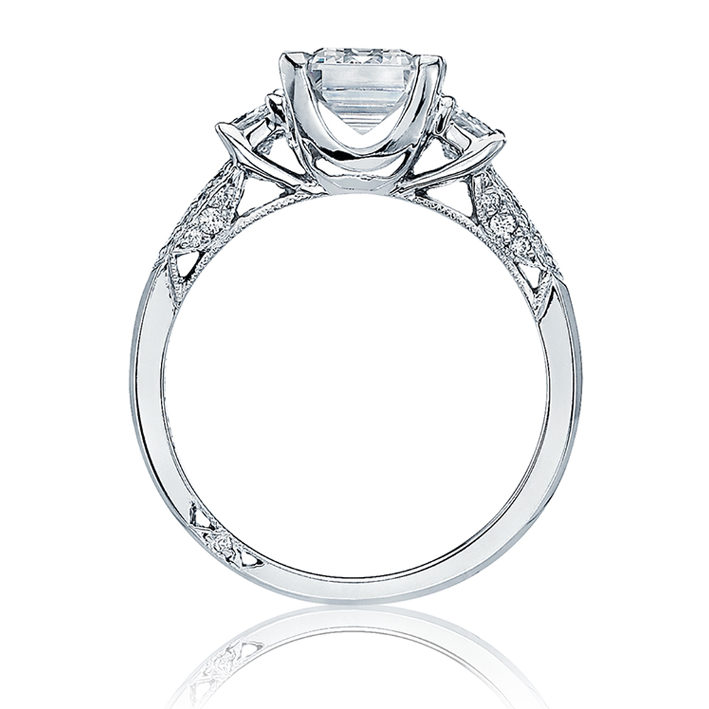 Tacori Platinum Simply Tacori Engagement Ring 2579SMEM7X5 Alternative View 1