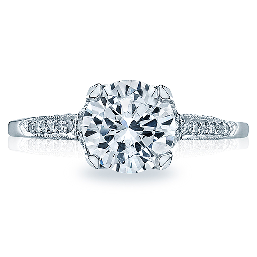 Tacori 18 Karat Simply Tacori Engagement Ring 2603RD75