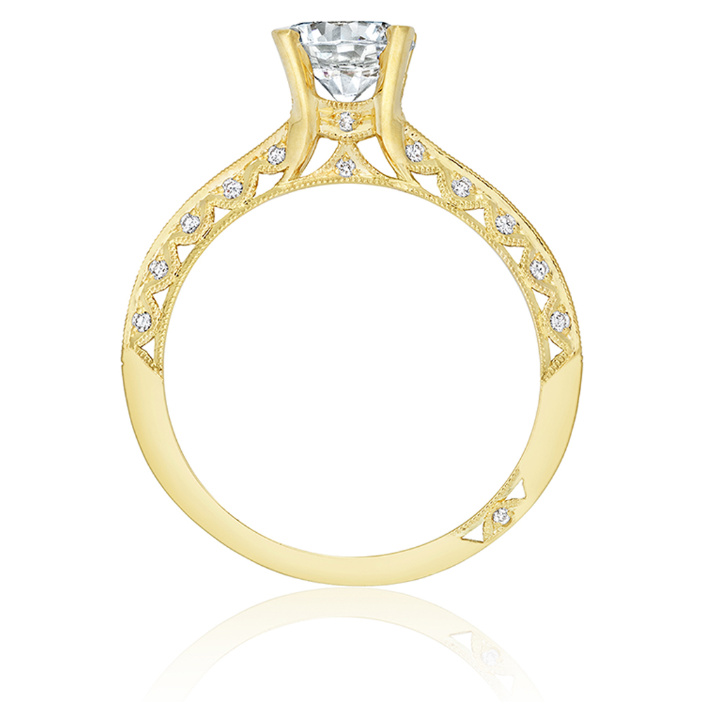 Tacori 2616RD65Y 18 Karat Tacori Gold Engagement Ring