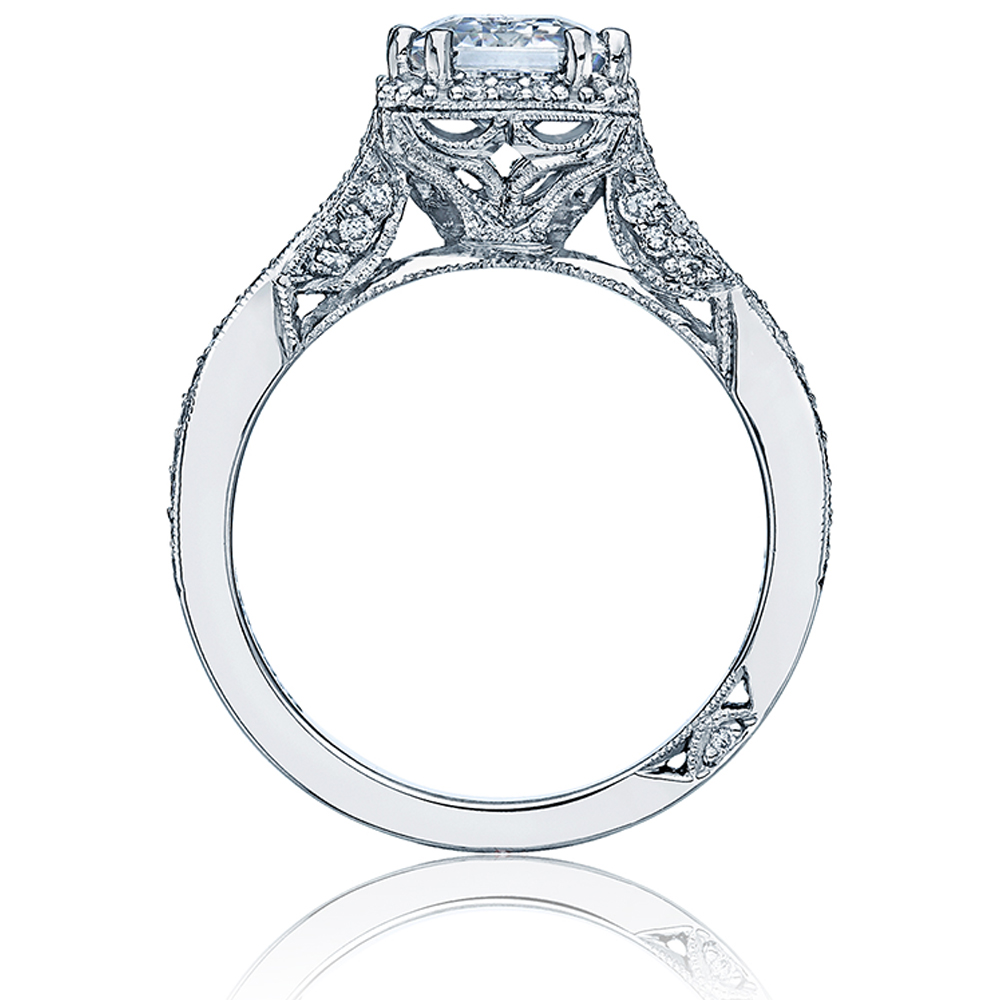 Tacori Dantela 18 Karat Engagement Ring 2627ECLG Alternative View 1