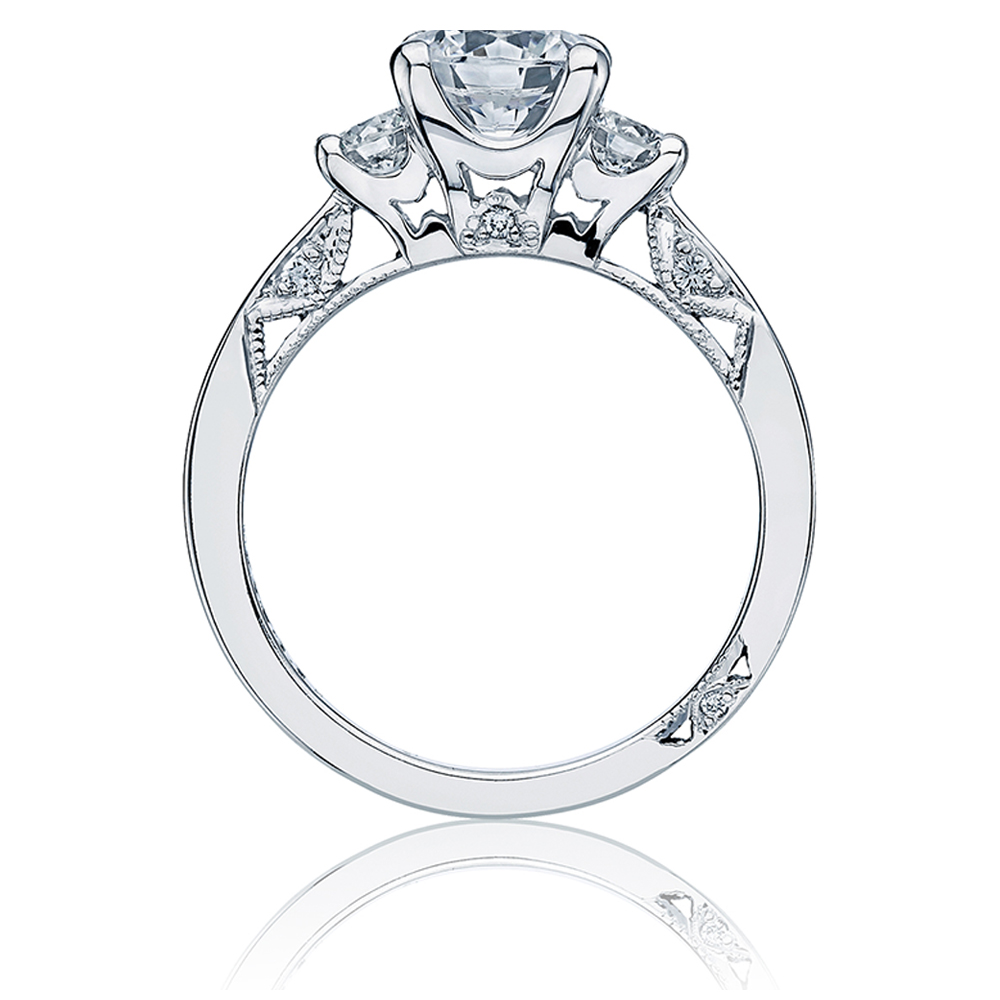Tacori Platinum Simply Tacori Engagement Ring 2635RD55 Alternative View 1