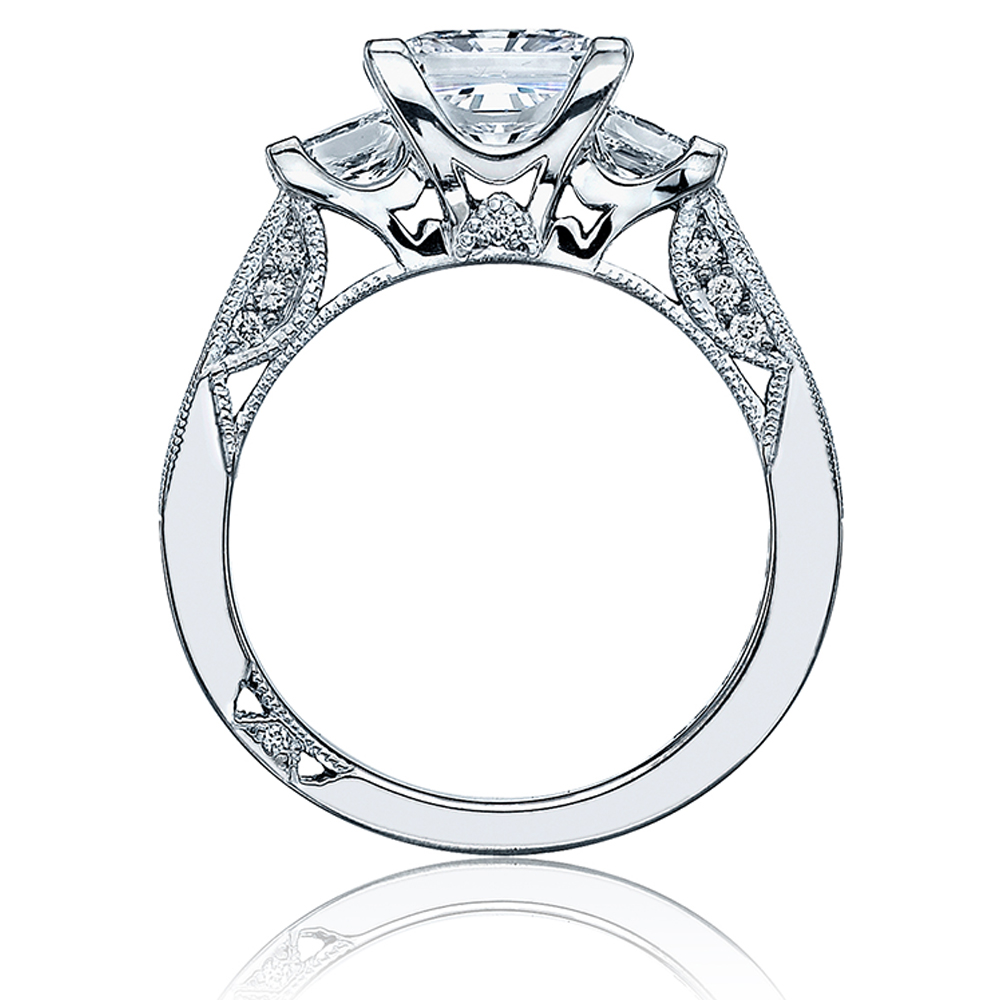 Tacori 2636PR6 Platinum Simply Tacori Engagement Ring Alternative View 1