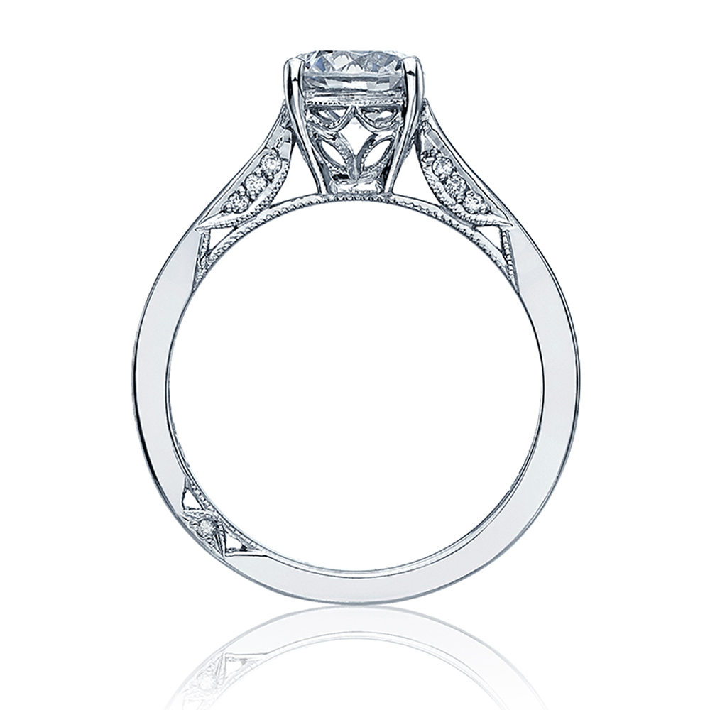 Tacori Dantela 18 Karat Engagement Ring 2638RD65 Alternative View 1