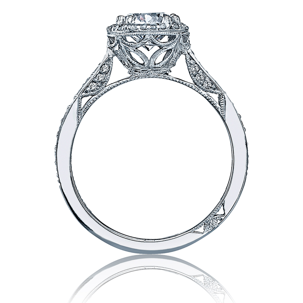 Tacori Dantela 18 Karat Engagement Ring 2639RDP65 Alternative View 1