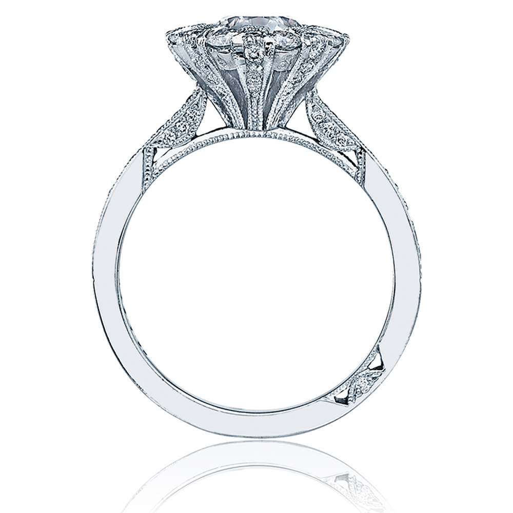 Simply Tacori 18 Karat Diamond Solitaire Engagement Ring 2642RD65 Alternative View 1