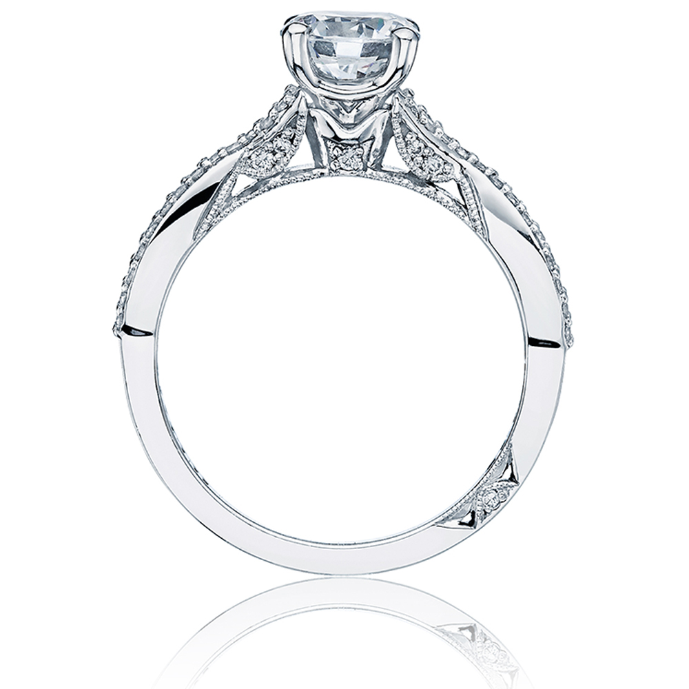 Tacori Platinum Simply Tacori Engagement Ring 3004 Alternative View 1