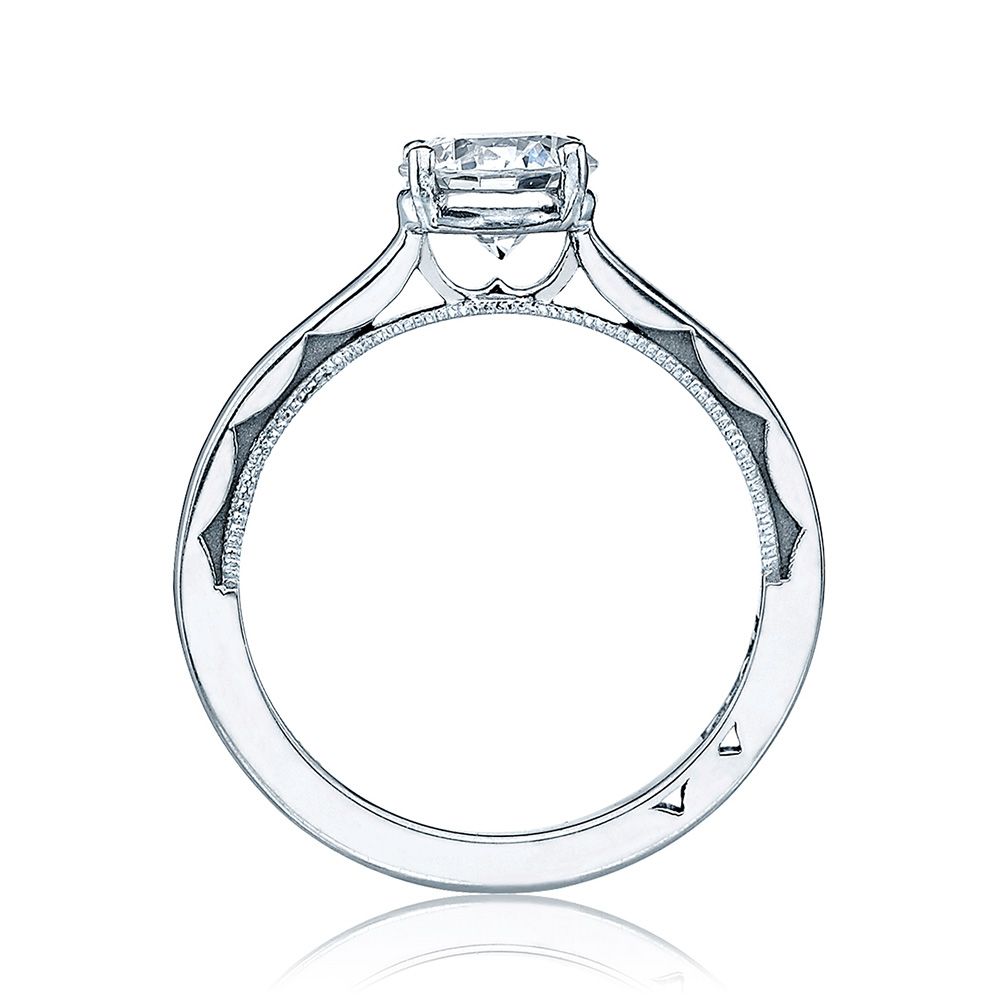 Simply Tacori Platinum Diamond Solitaire Engagement Ring 48RD6 Alternative View 1