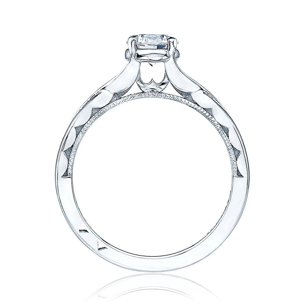 tacori 51rd55 18 karat sculpted crescent engagement ring