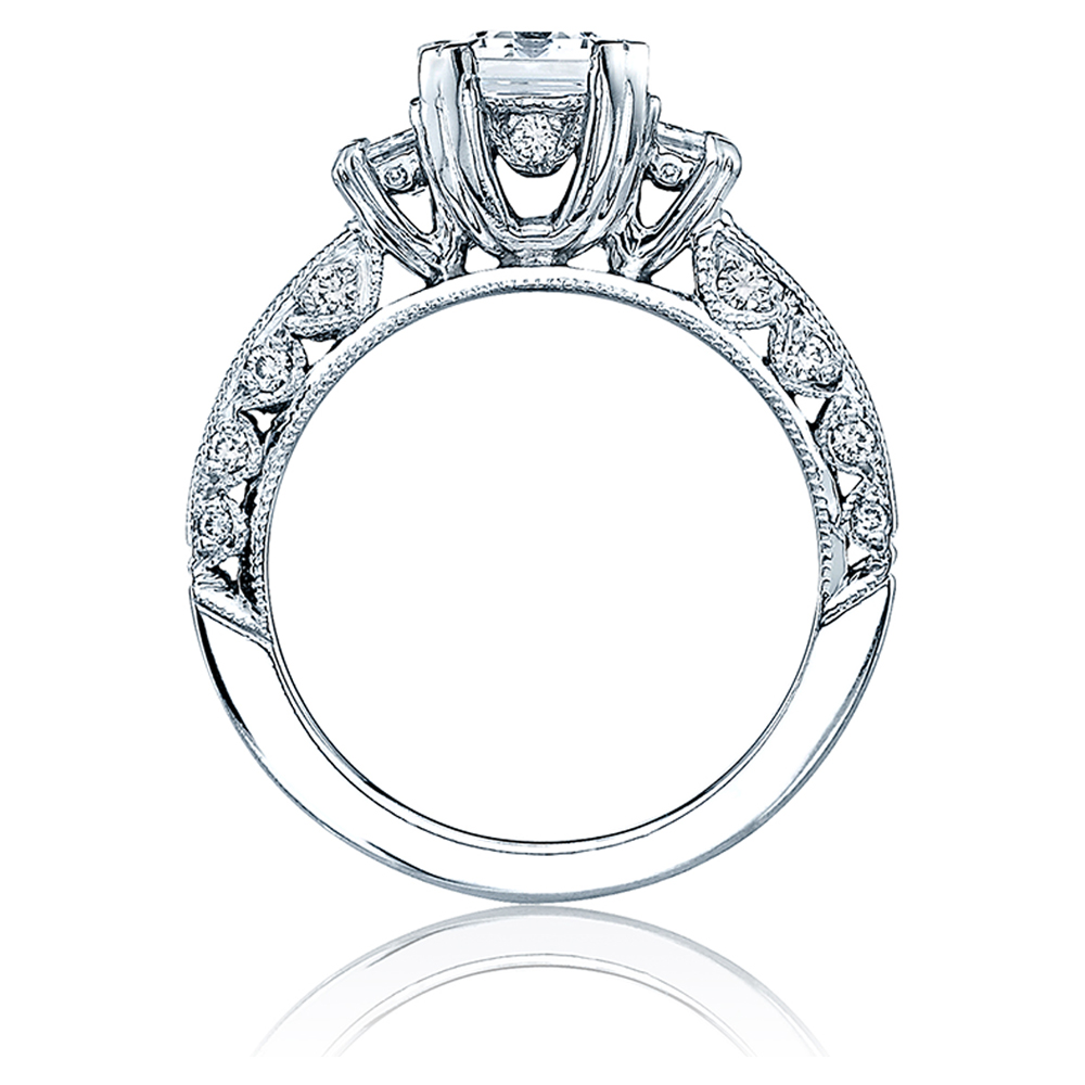 Tacori Crescent Platinum Engagement Ring HT227312X Alternative View 1