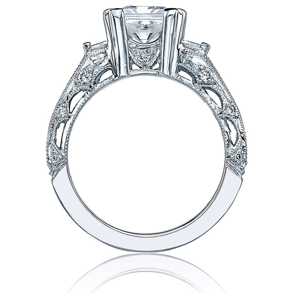 Tacori Crescent 18 Karat Engagement Ring HT2509PR12X Alternative View 1