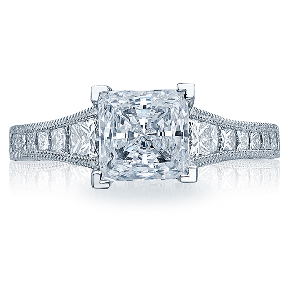 Tacori 18 Karat Crescent Engagement Ring HT2510PR12X