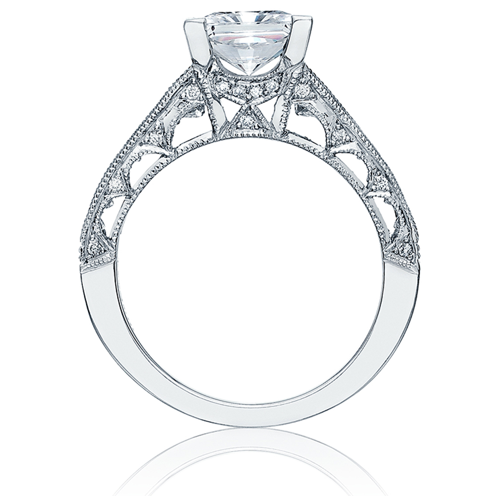 Tacori 18 Karat Crescent Engagement Ring HT2510PR12X Alternative View 1