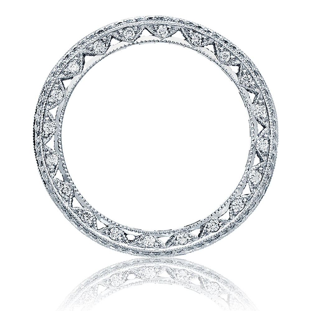Tacori HT2513PRB Platinum Wedding Band Alternative View 1