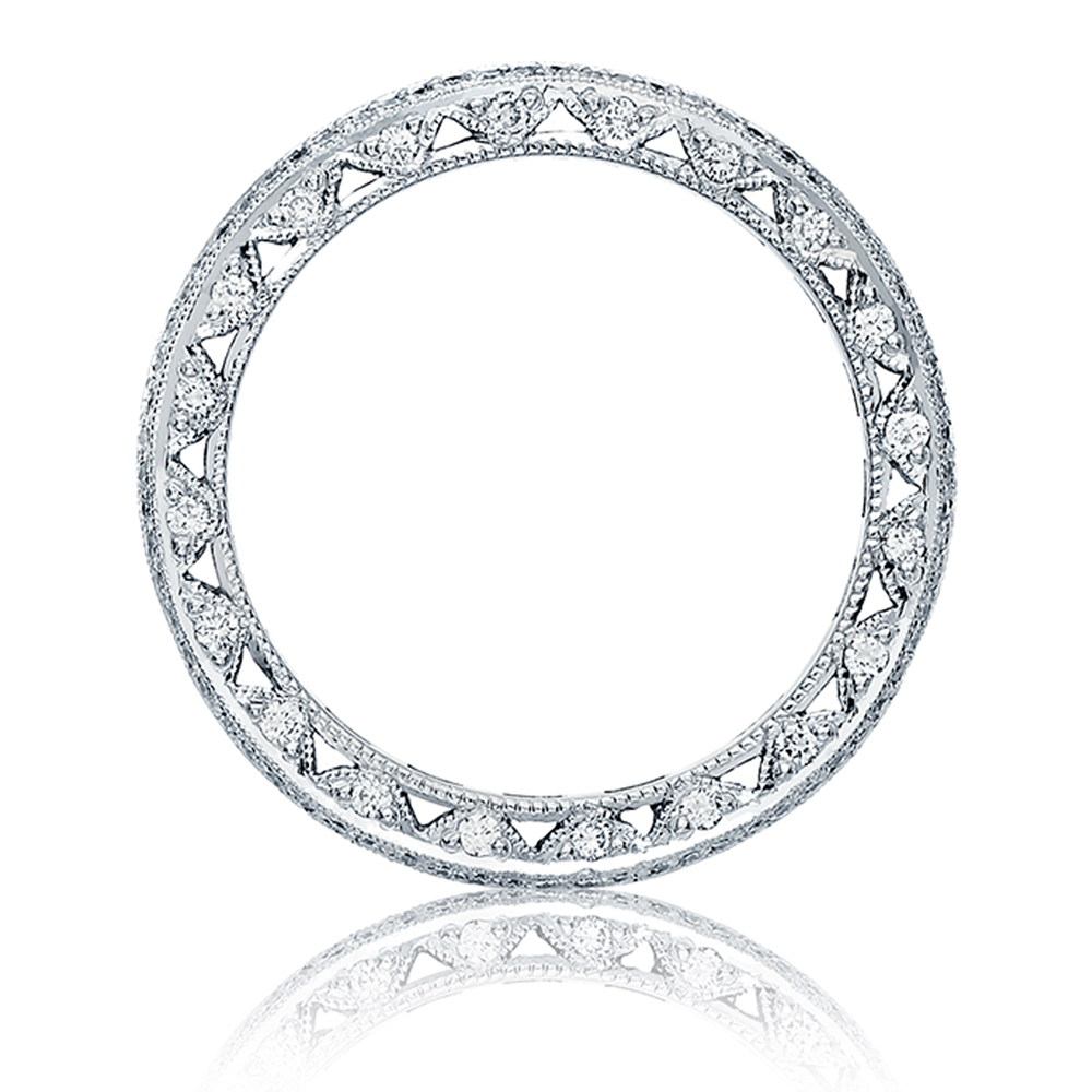 Tacori HT2513RDB Platinum Wedding Band Alternative View 1