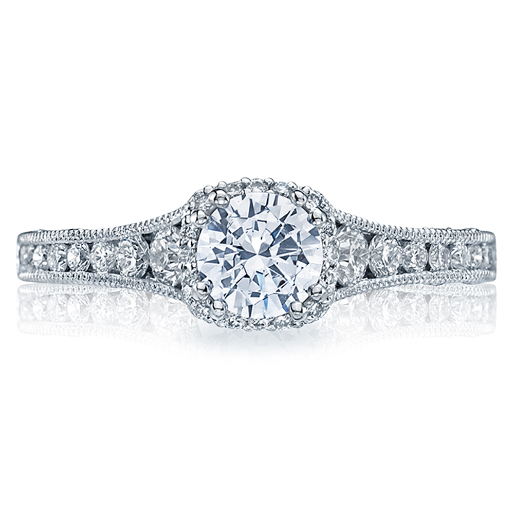 Tacori Crescent 18 Karat Engagement Ring HT2515RD5512X