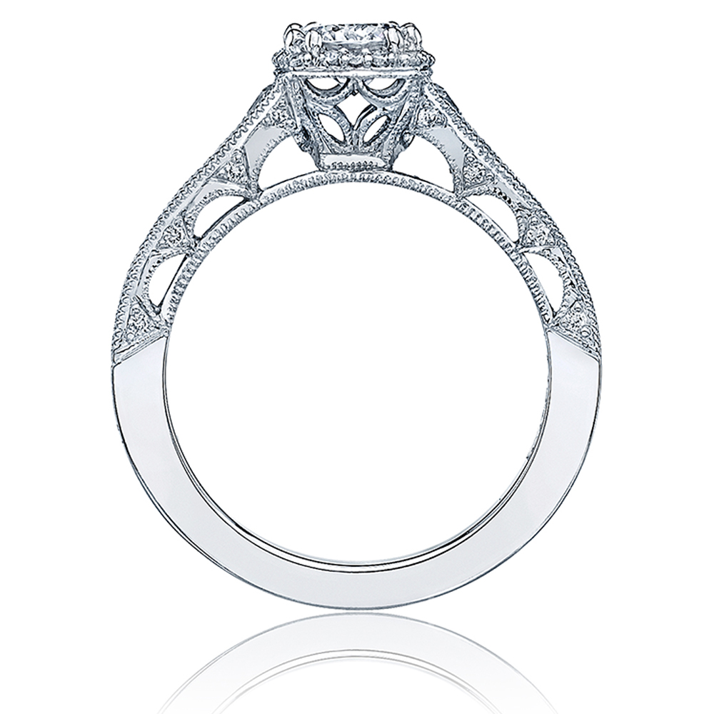 Tacori Crescent Platinum Engagement Ring HT2515RD5512X Alternative View 1