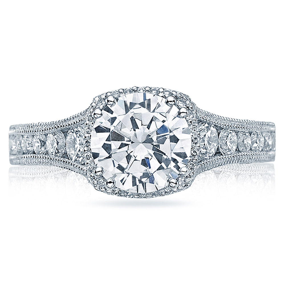 Tacori Crescent 18 Karat Engagement Ring HT2515RD812X