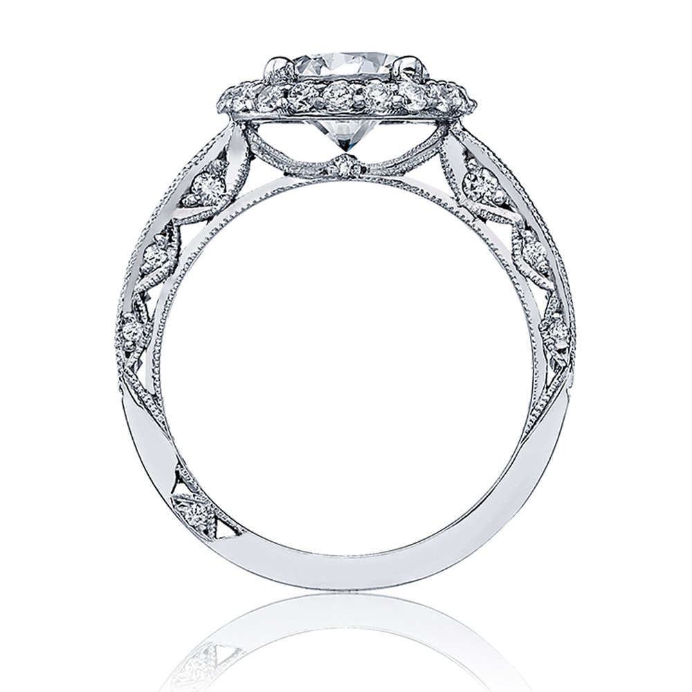 HT2517RD75 Tacori Crescent 18 Karat Engagement Ring Alternative View 1