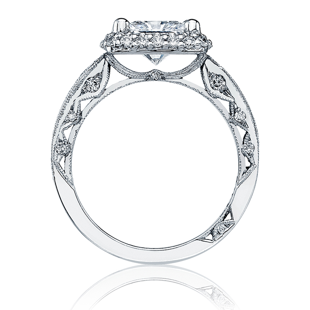 HT2518PR7 Platinum Tacori Blooming Beauties Engagement Ring Alternative View 1