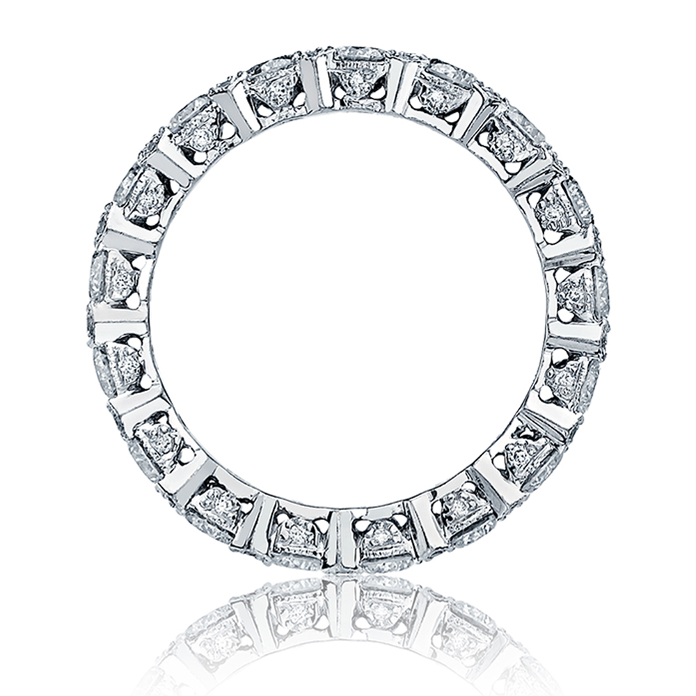 Tacori HT2519 18 Karat Wedding Band Alternative View 1