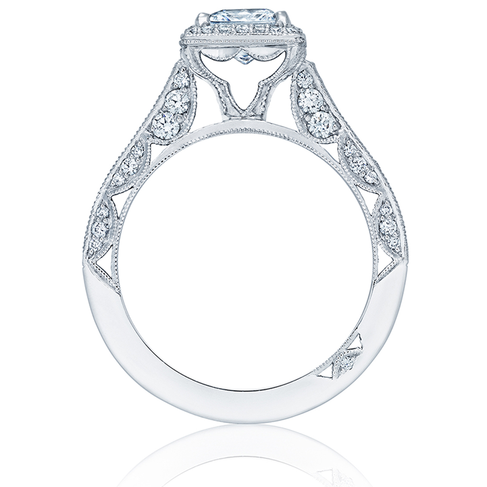 Tacori HT2550PR55 18 Karat Classic Crescent Engagement Ring Alternative View 1