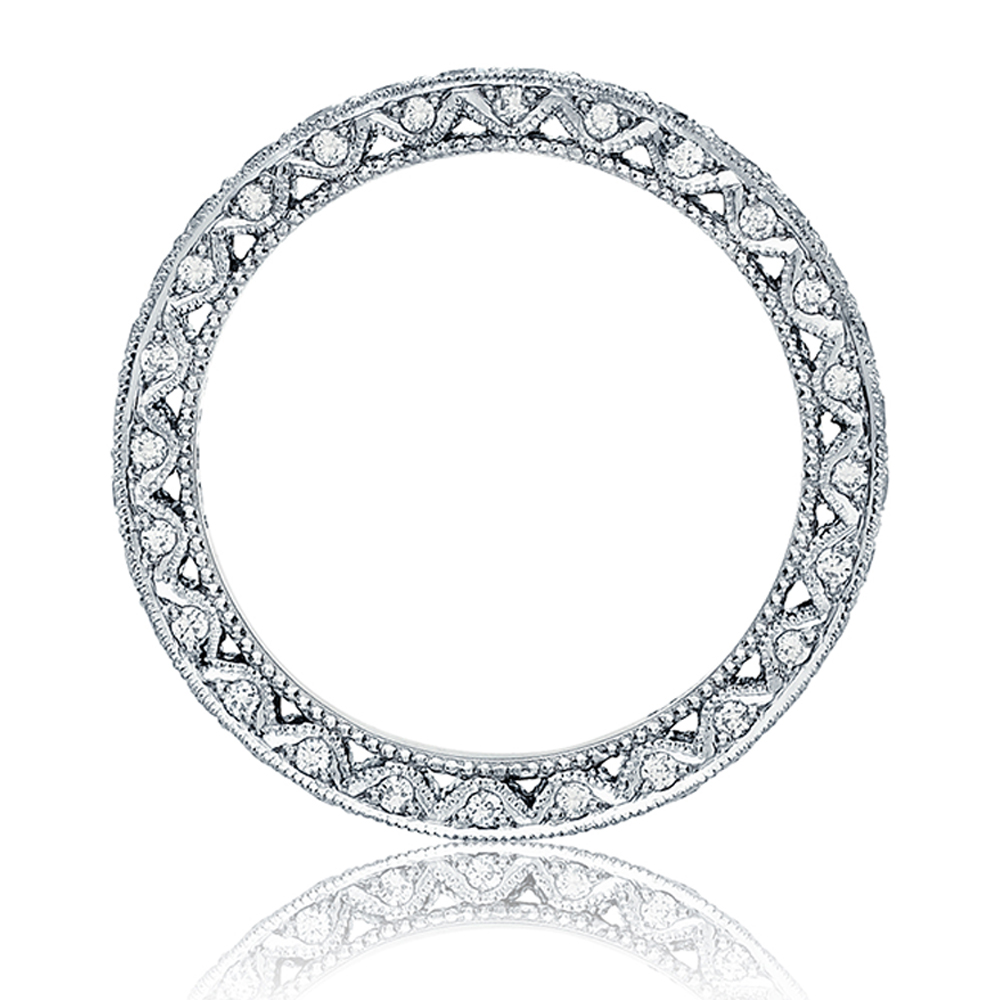 Tacori HT2605B 18 Karat RoyalT Diamond Wedding Band Alternative View 1