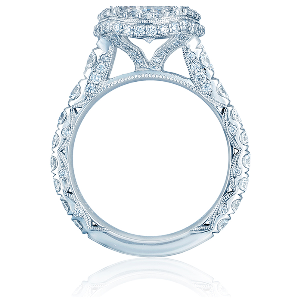 Tacori HT2624OV10X85 18 Karat RoyalT Engagement Ring Alternative View 1