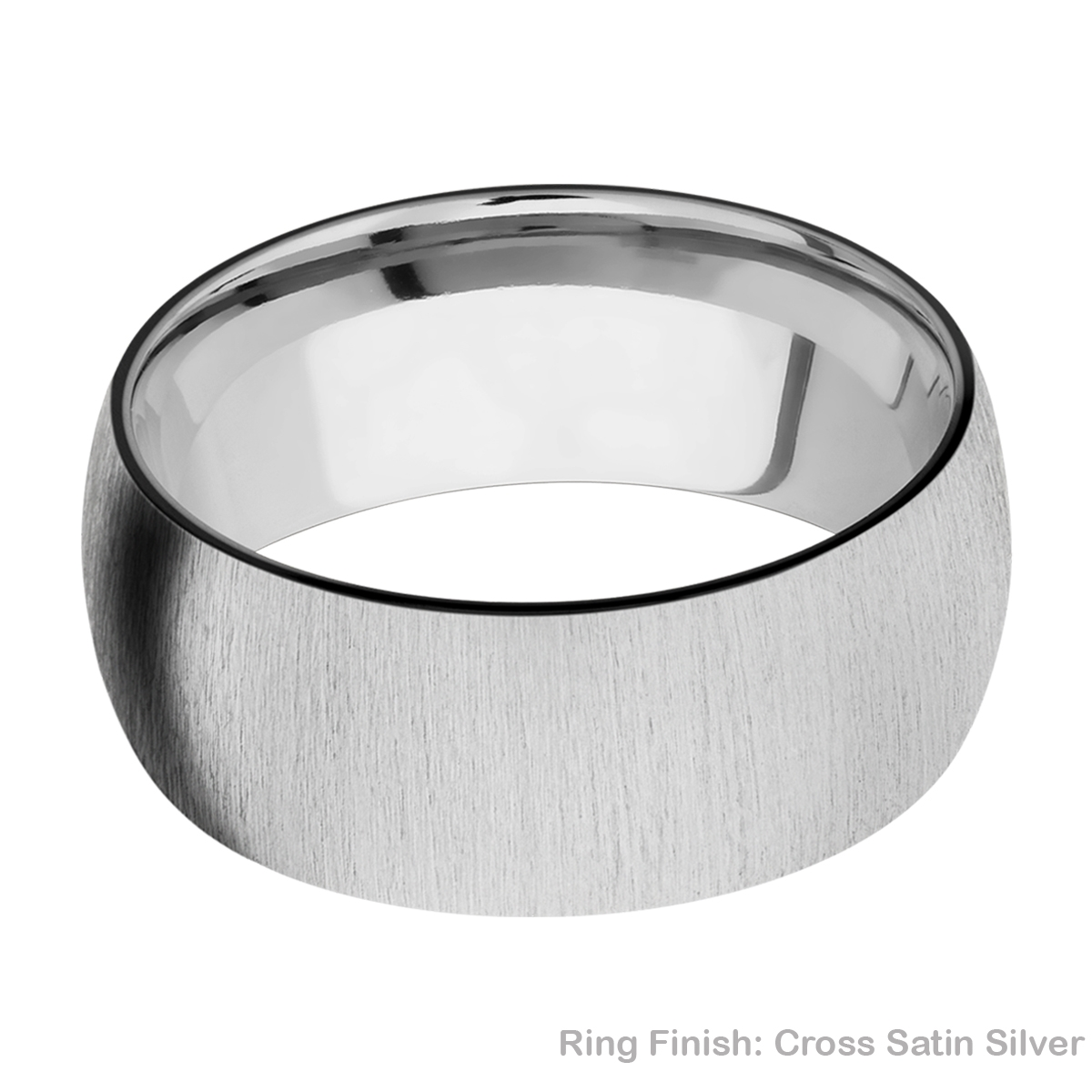 Lashbrook TISLEEVEZ9D Zirconium and Titanium Wedding Ring or Band Alternative View 6