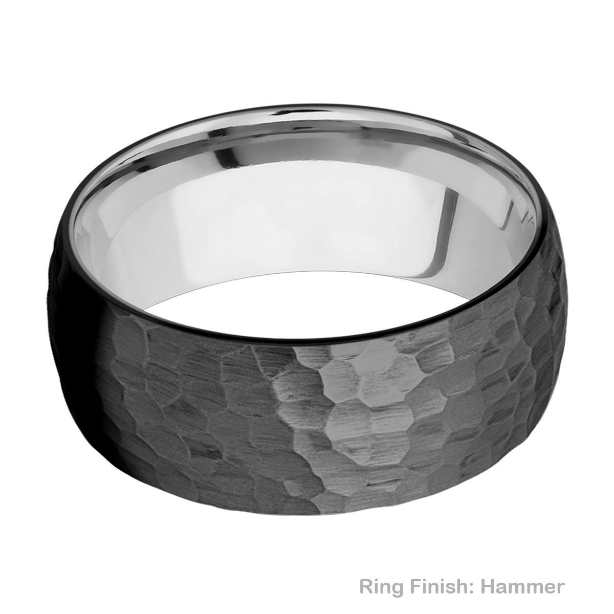 Lashbrook TISLEEVEZ9D Zirconium and Titanium Wedding Ring or Band Alternative View 8