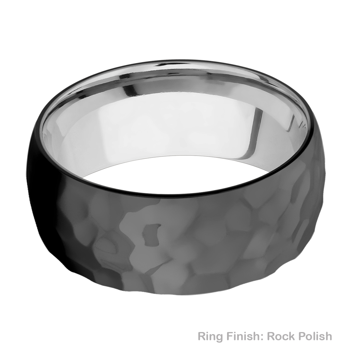 Lashbrook TISLEEVEZ9D Zirconium and Titanium Wedding Ring or Band Alternative View 14