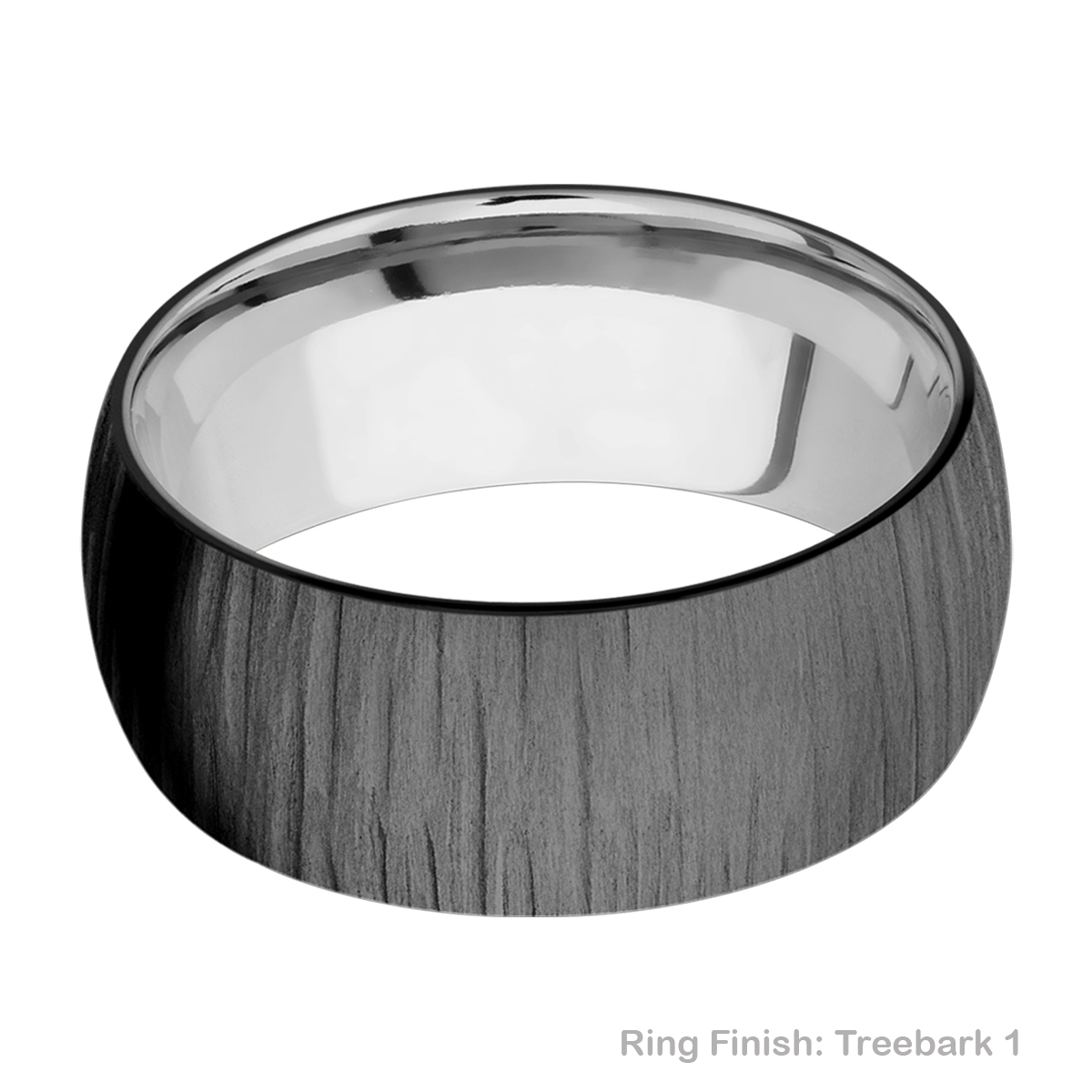 Lashbrook TISLEEVEZ9D Zirconium and Titanium Wedding Ring or Band Alternative View 10